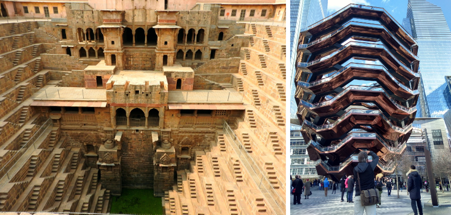 The Indian Step-Well arrives well … and confused in New York by Design Dalda