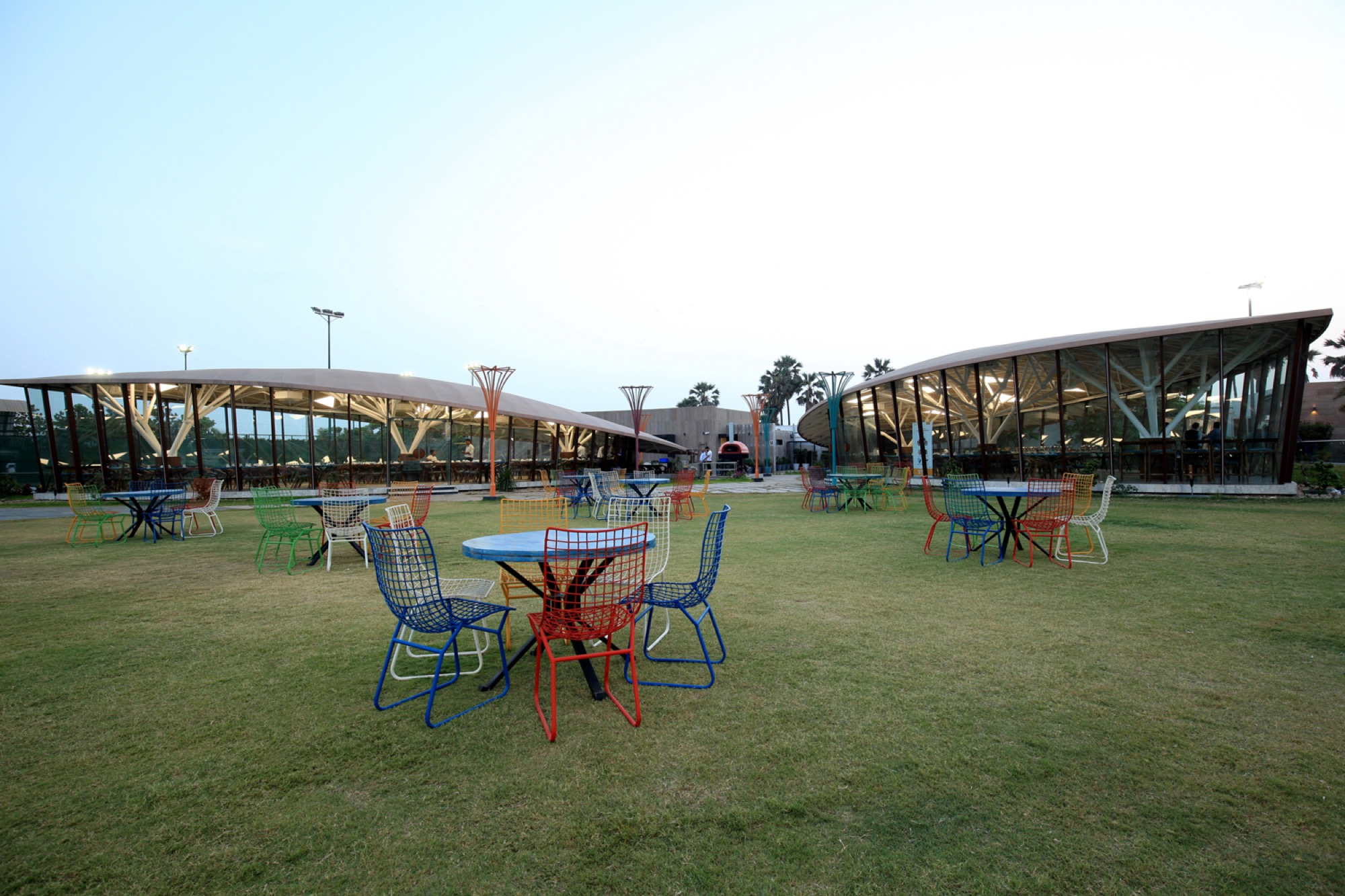 Pavilion- Garden of Spices, at Surat, Gujarat - Van Sthapati Associates 7