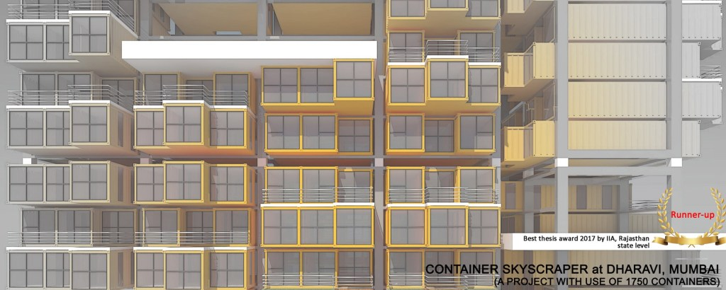 Container Skyscrapper