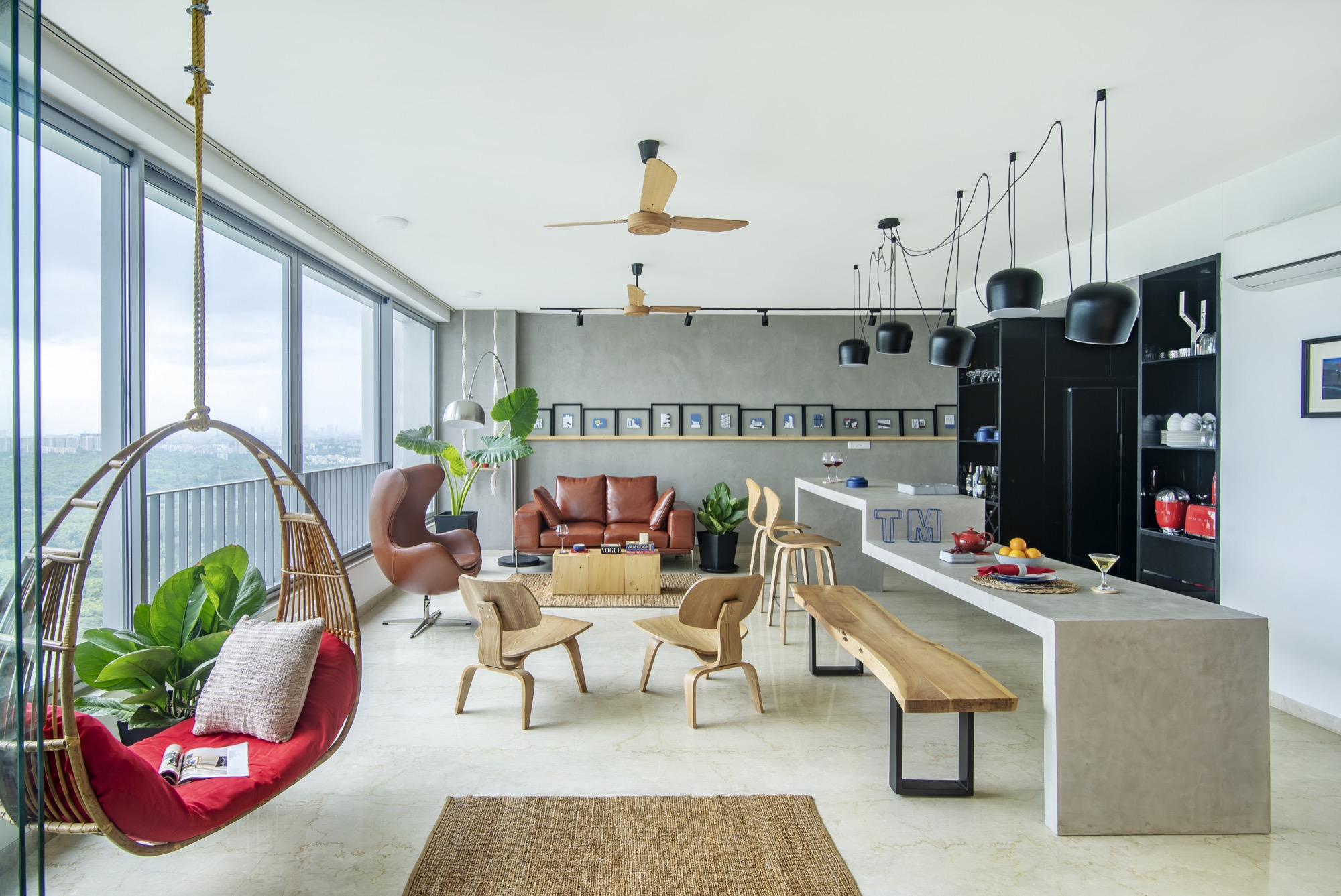 ESQUIRE: Interior Design for a residential Apartment at Mumbai, by Limehouse Design Studio 15
