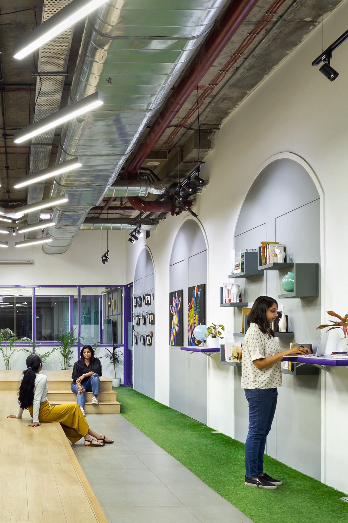 Happy Office, India Bulls, at Lower Parel, Mumbai, by Studio Osmosis 5