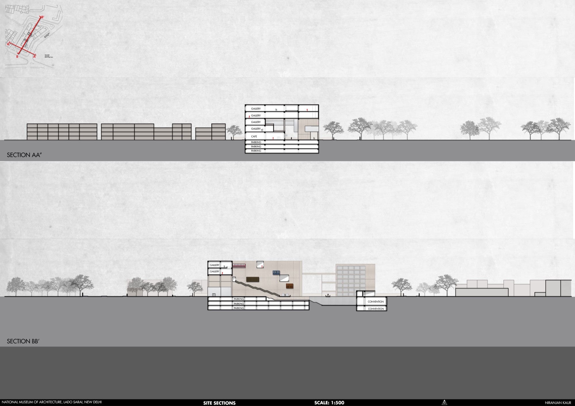 B.Arch Thesis: National Museum of Architecture, New Delhi, by Niranjan Kaur 37