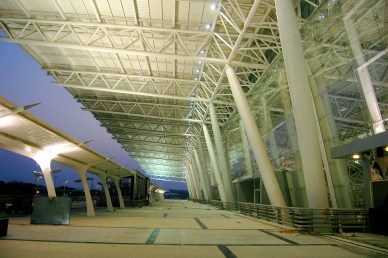 View of Entrance Canopy