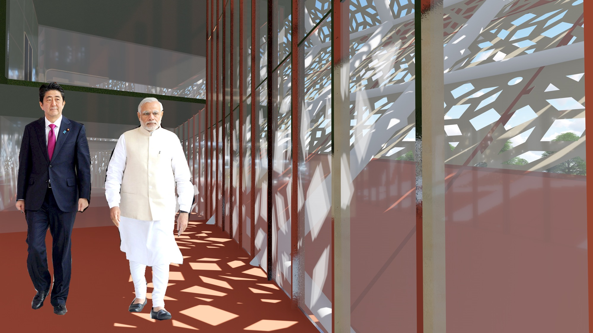 B.Arch Thesis: Emotions of a Democracy: New Parliament House of India, New Delhi Dhruval Shah 6