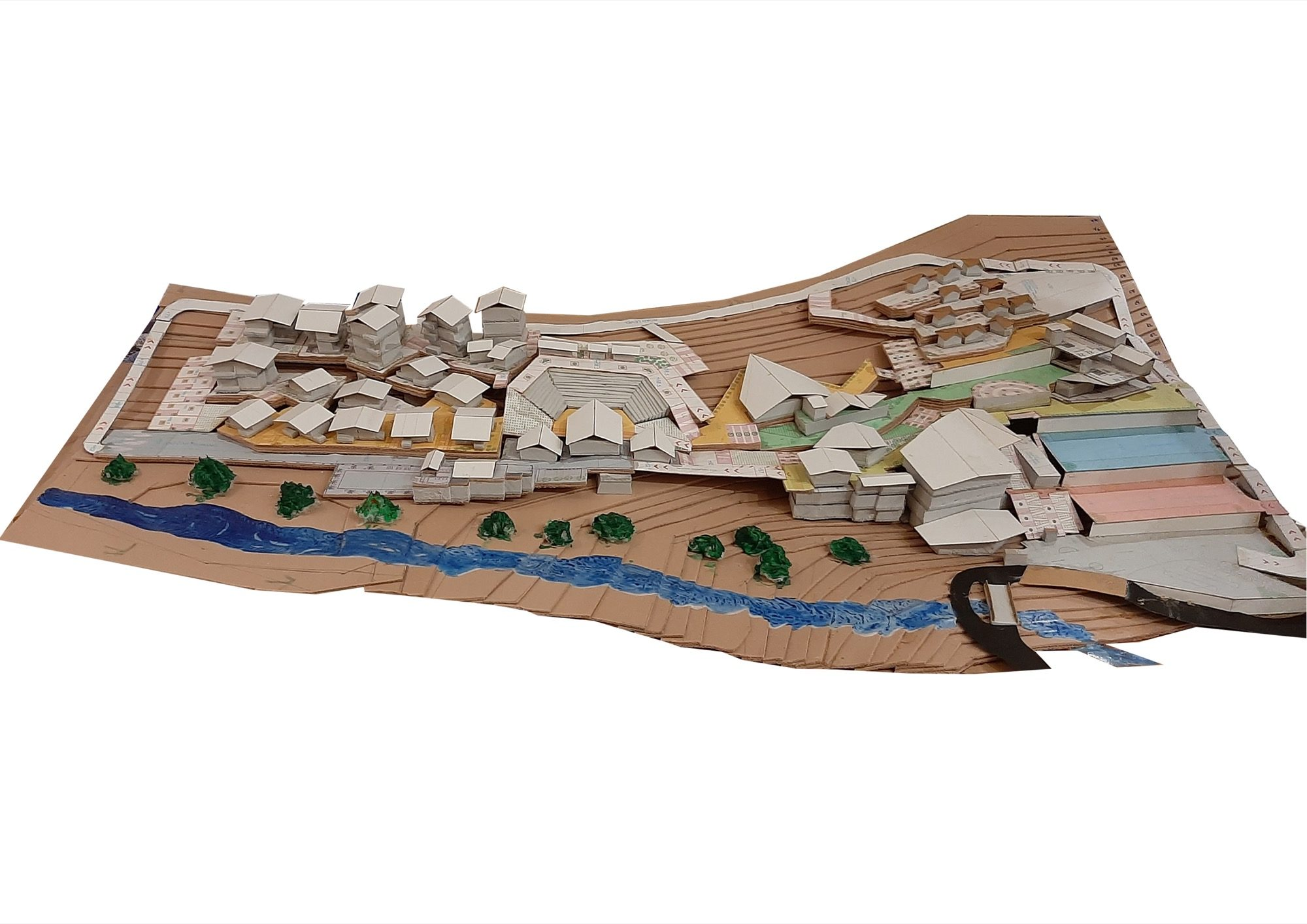 B.Arch Thesis: Eco-Tourist Hub of KHONOMA Village, By Shanjo A. Kithan, ITM University-Gwalior 2