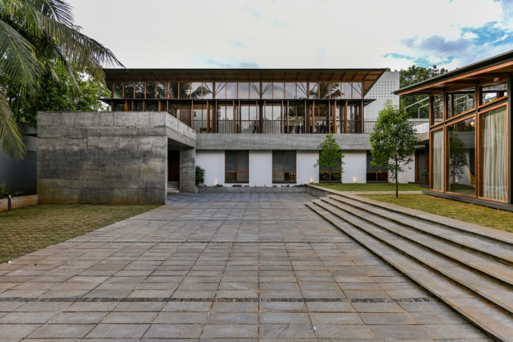 The Skew House, at Kerala, by Thought Parallels Architecture 23