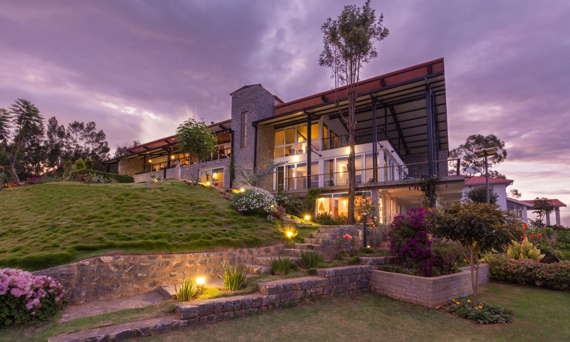 Stepped House at Coonoor, by Studio Lotus 1