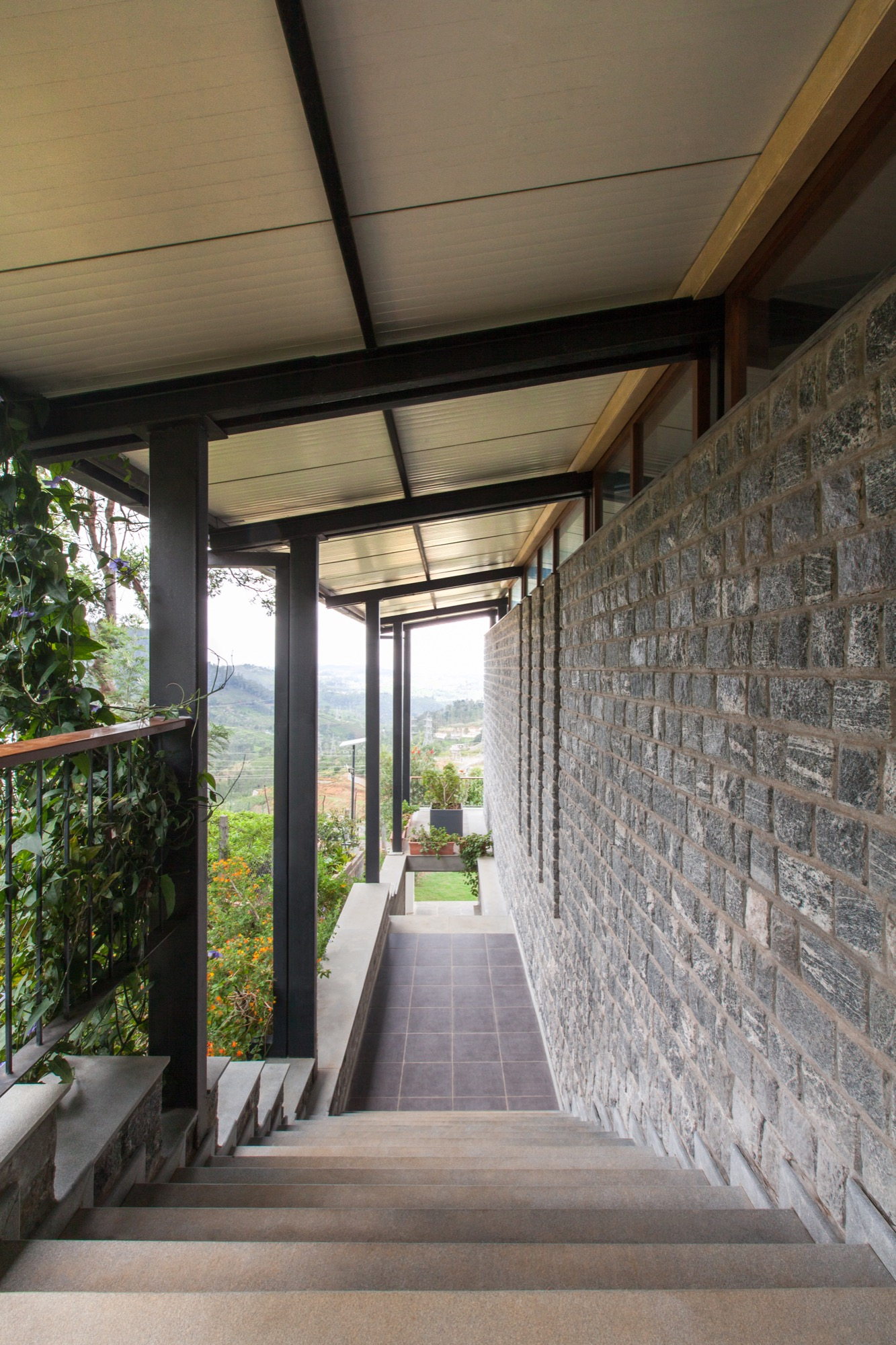 Stepped House at Coonoor, by Studio Lotus 14