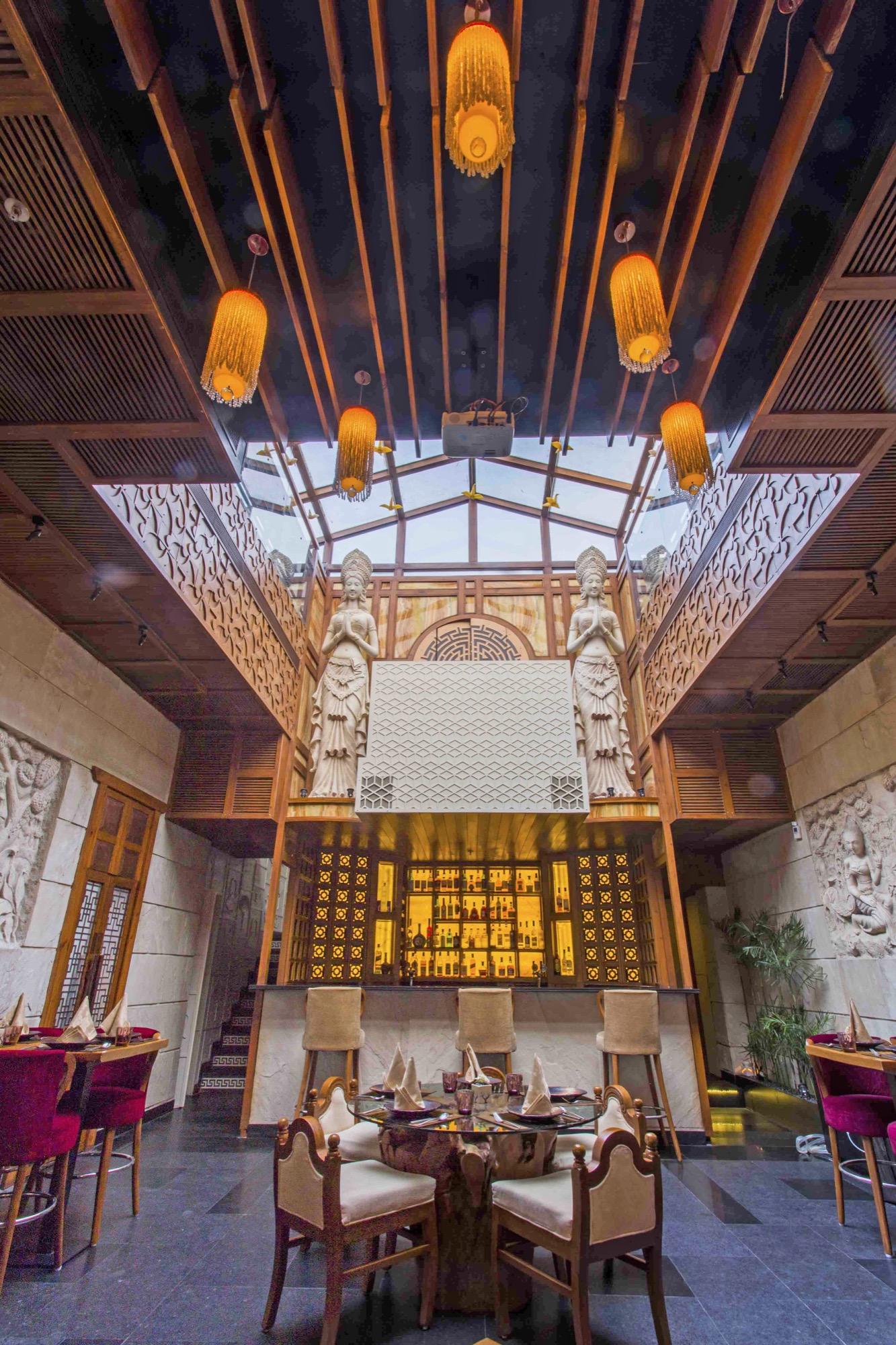 Best of Asia Village, Interior design for a restaurant at Delhi by Aspire Designs 7