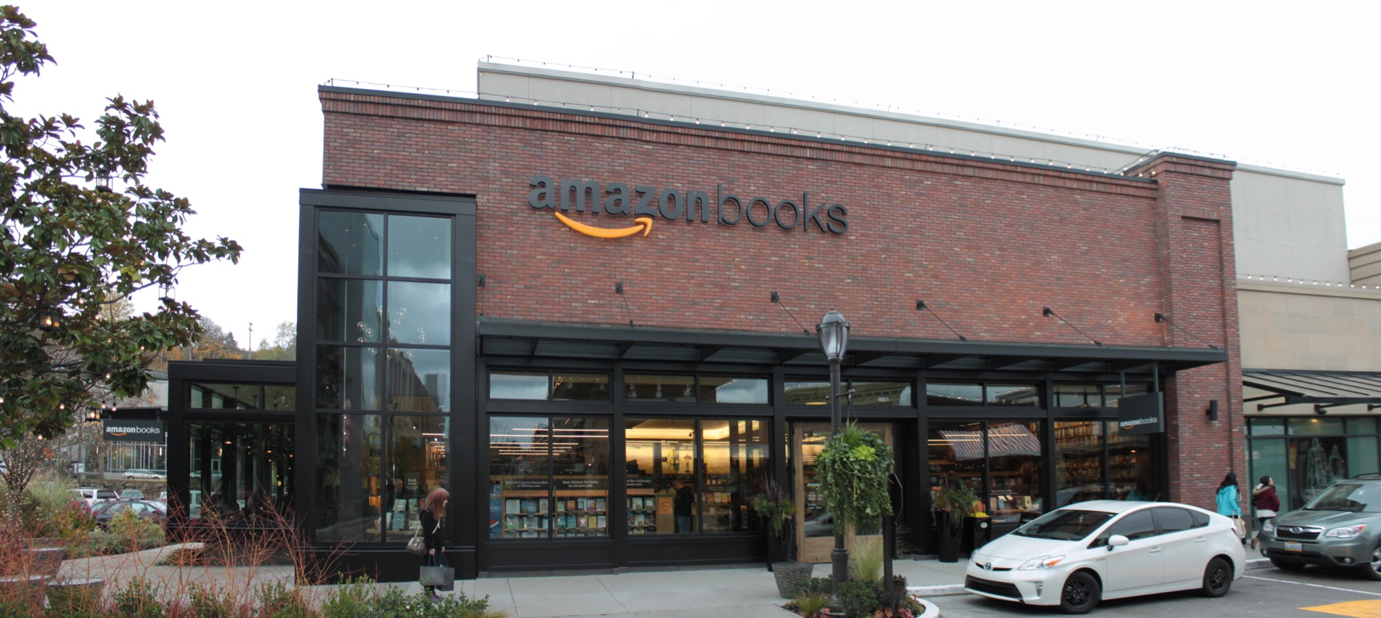 Amazon Book Store at Seattle