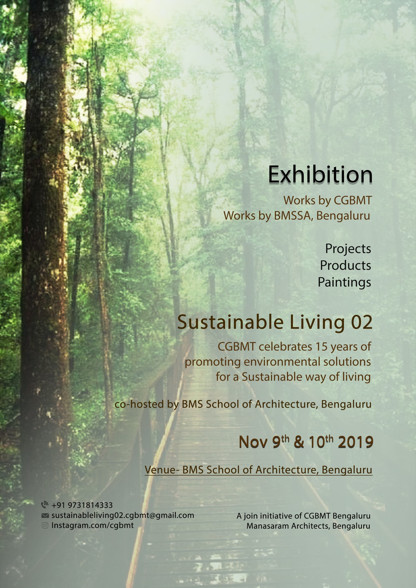 Sustainable Living-2, Event by Centre for Green Building Materials and Technology, Bangalore 7