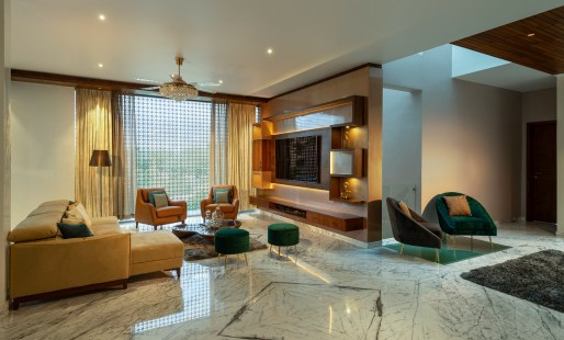 Hues Of Copper - Family room