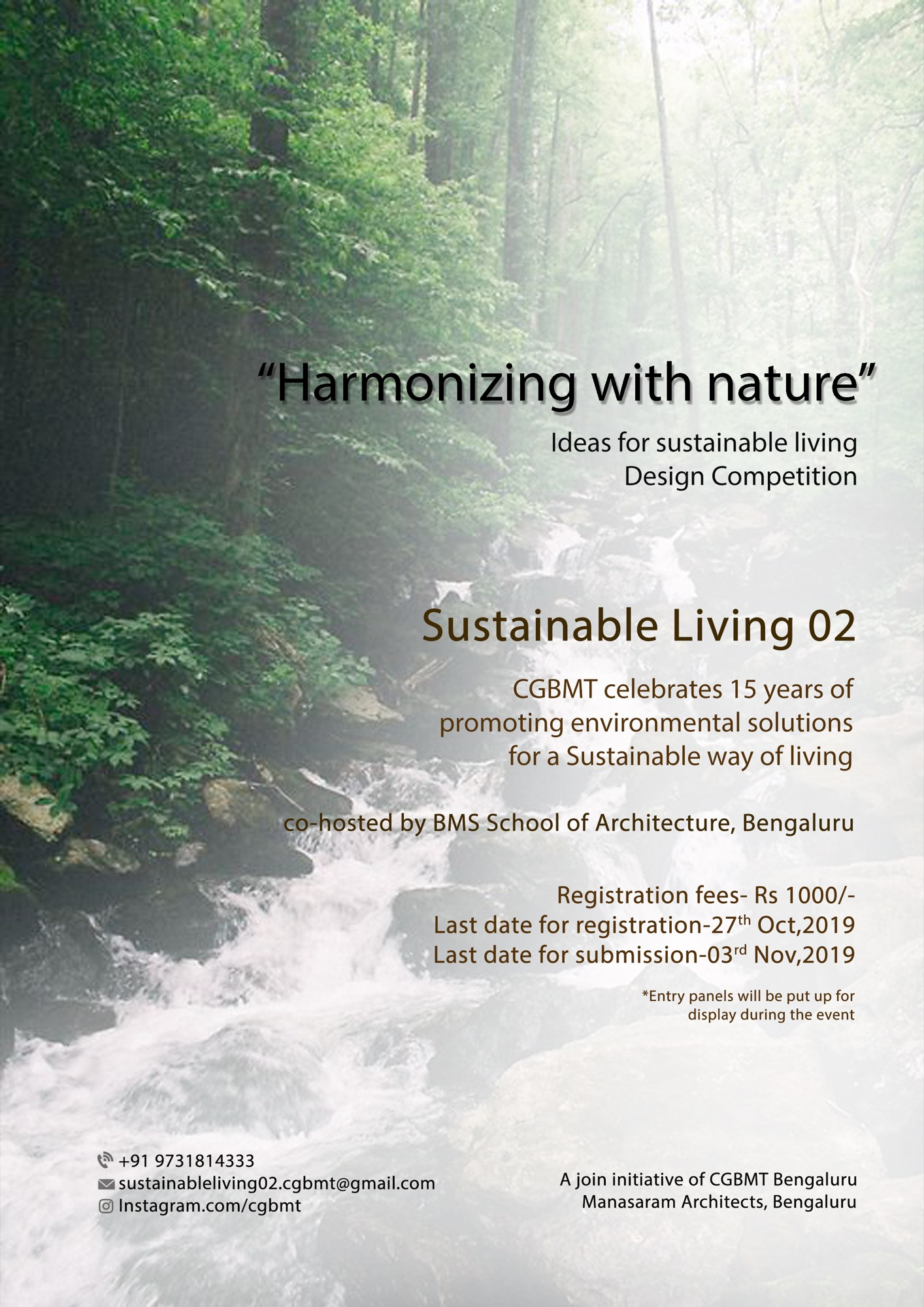 Sustainable Living-2, Event by Centre for Green Building Materials and Technology, Bangalore 15
