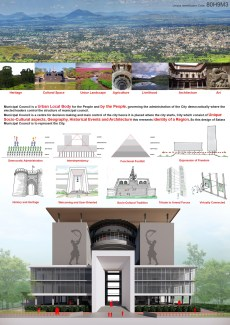 Satara Municipal Corporation, Shortlisted competition entry by Studio UD+AC 1