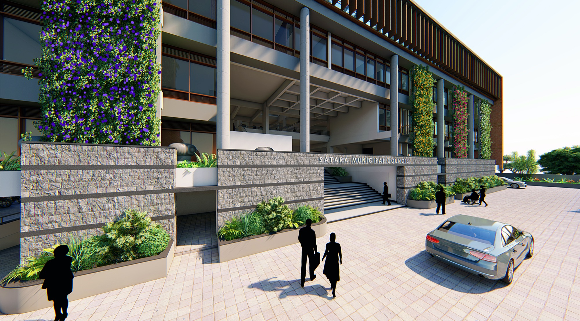 Satara Municipal Corporation, Competition Entry by KENARCH Architects, Pune 18