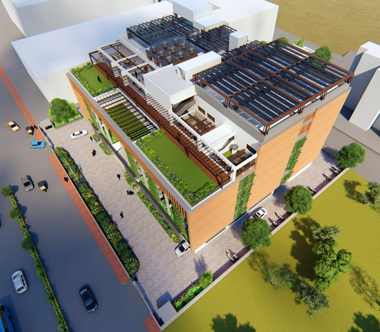 Satara Municipal Corporation, Competition Entry by KENARCH Architects, Pune 34