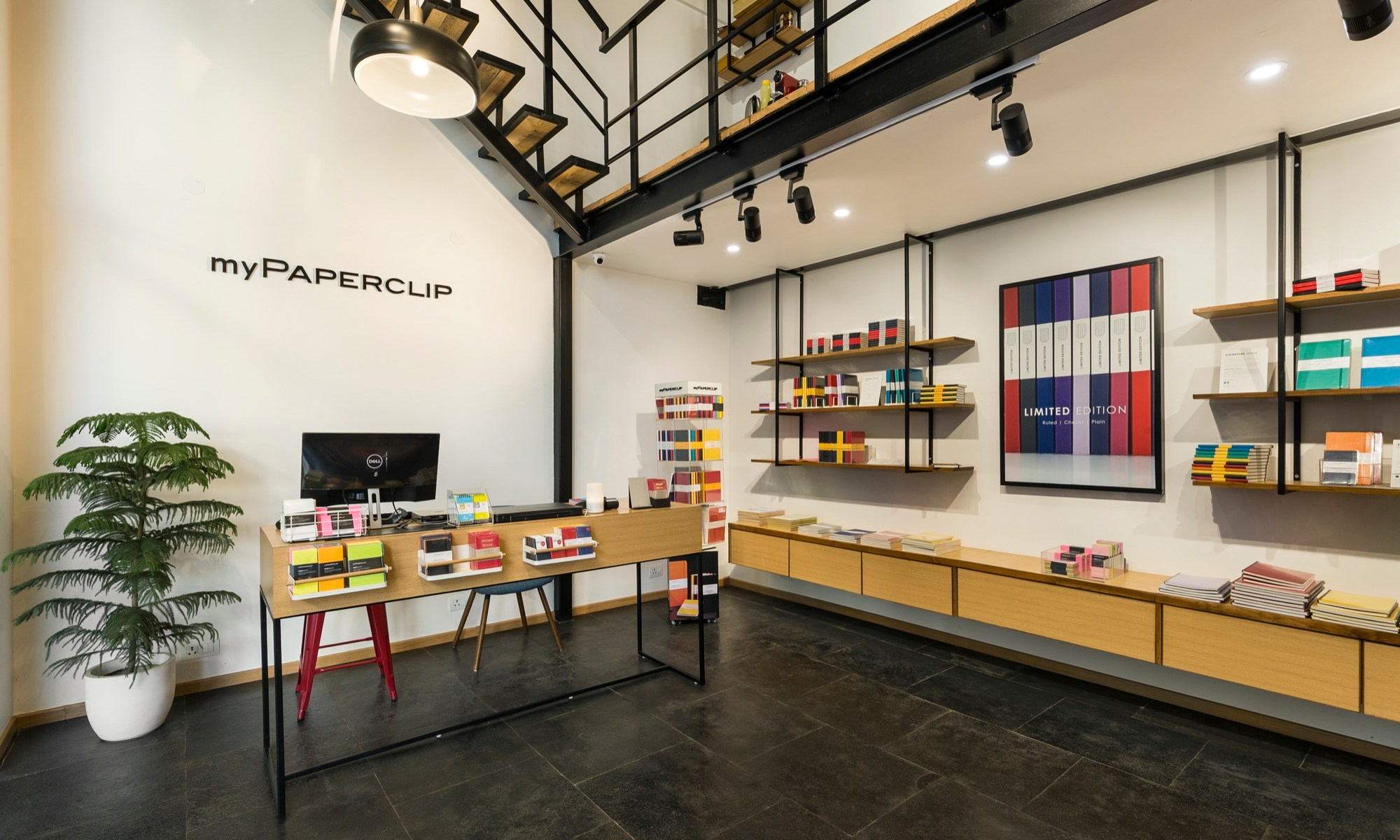 Mypaperclip Flagship Store – Stationery Experience Center at Gurgaon, by Sync Design Studio 3