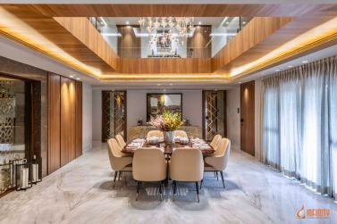 An Inside Look of a Neo-Classical Infinity Design, at Pune, Maharashtra, by Infinity Architects and Interior Designers 16