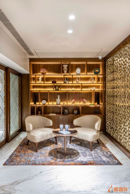 An Inside Look of a Neo-Classical Infinity Design, at Pune, Maharashtra, by Infinity Architects and Interior Designers 12