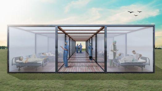 CubeX, Quarantine Pavilion, idea by Ankit Kashyap 131
