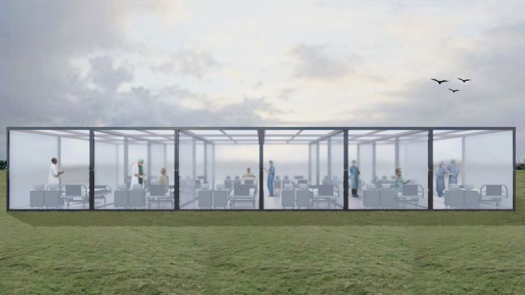 CubeX, Quarantine Pavilion, idea by Ankit Kashyap 3