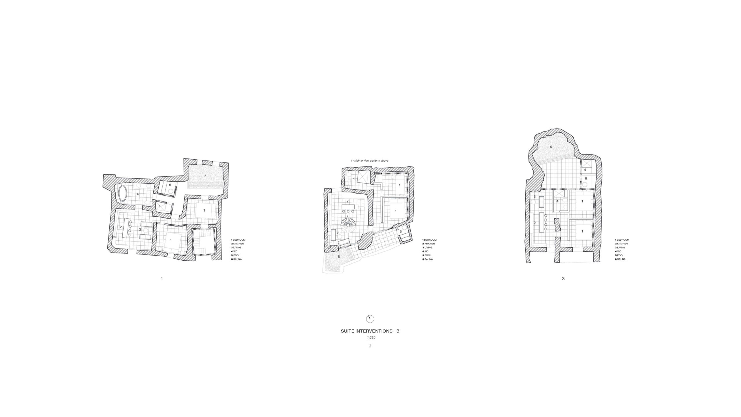Unbuilt : TRACES - GHOST TOWN REFUGE, at Craco, Italy, by Claudio C. Araya, Yahya Abdullah 9