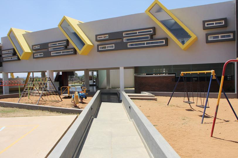 The Summit Kindergarten School, at Chikmagalur, Karnataka, India, by Studio Decode