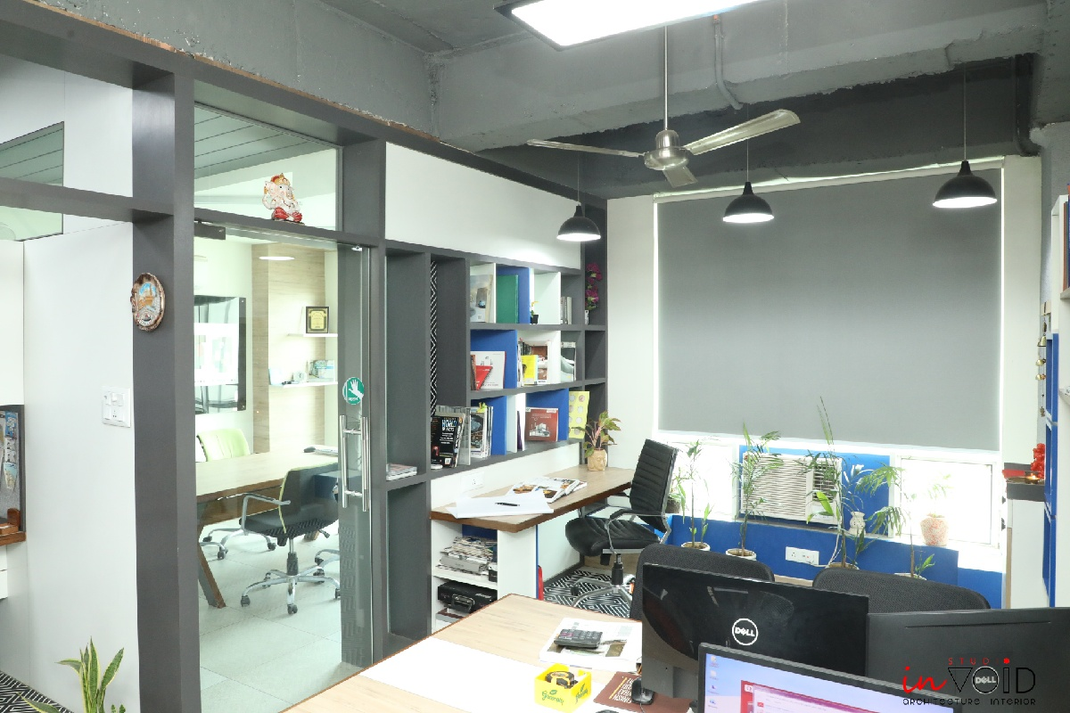 Workspace for Studio inVoid, at Ghaziabad, Uttar Pradesh, by Studio inVoid 16