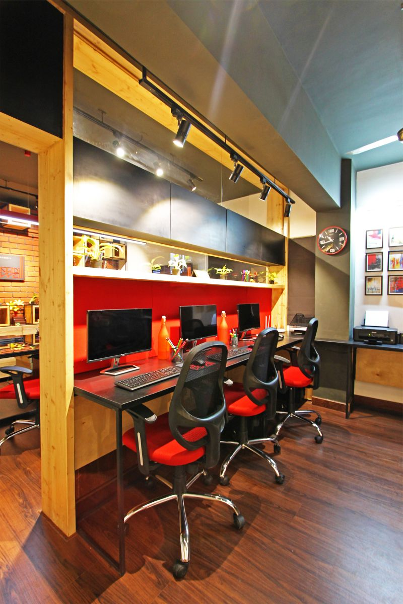 REDWALL STUDIO, at JP NAGAR, BENGALURU, by REDWALL DESIGN STUDIO 7