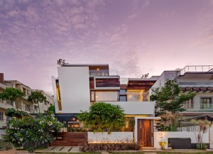 Floating House, at Bangalore, by Crest Architects