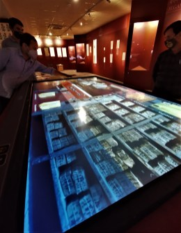 Digital screen for accessing all archival documents