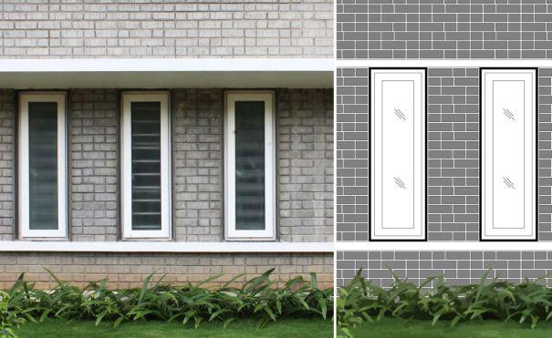 9.SA_Angelic Grace Home_Exetrior Brick Bonding Detail