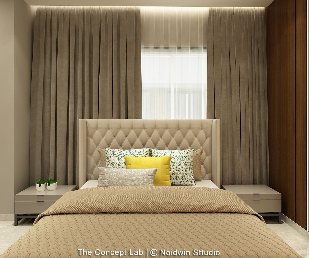 Penthouse By The River, at Dumas road, surat, by The Concept Lab 13