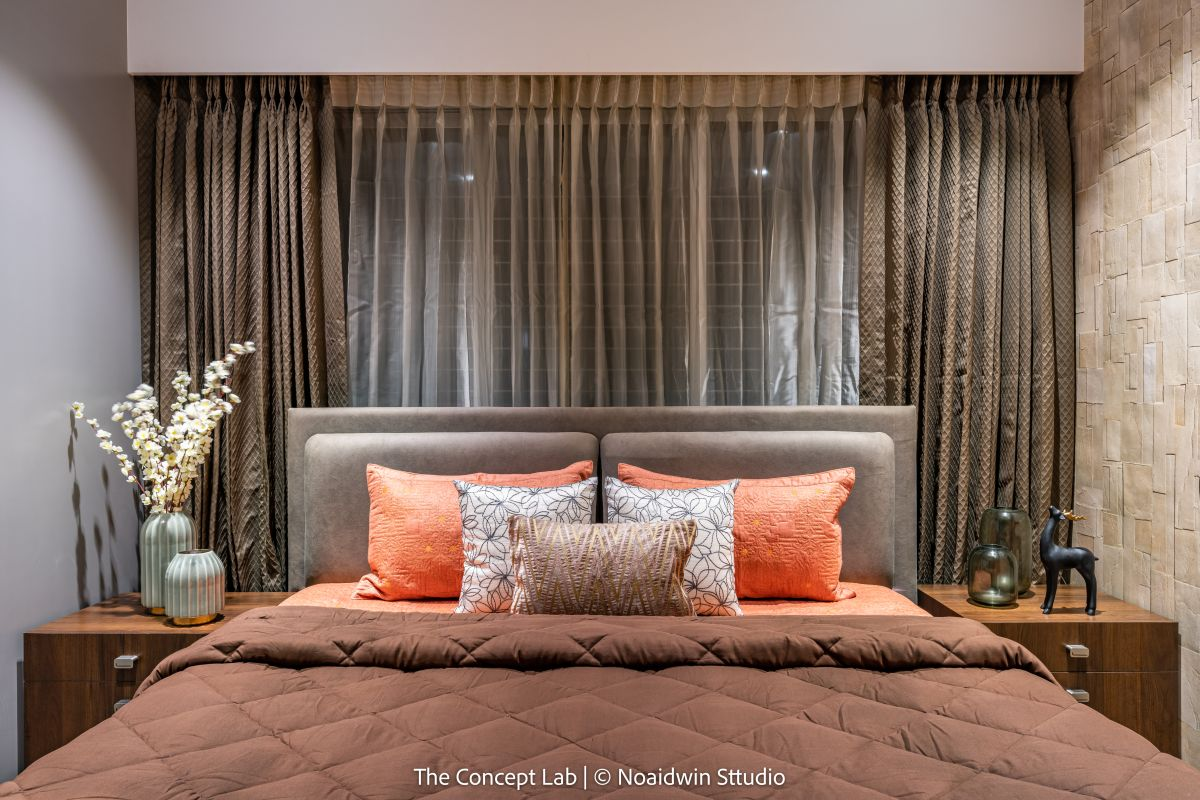 Penthouse By The River, at Dumas road, surat, by The Concept Lab 19