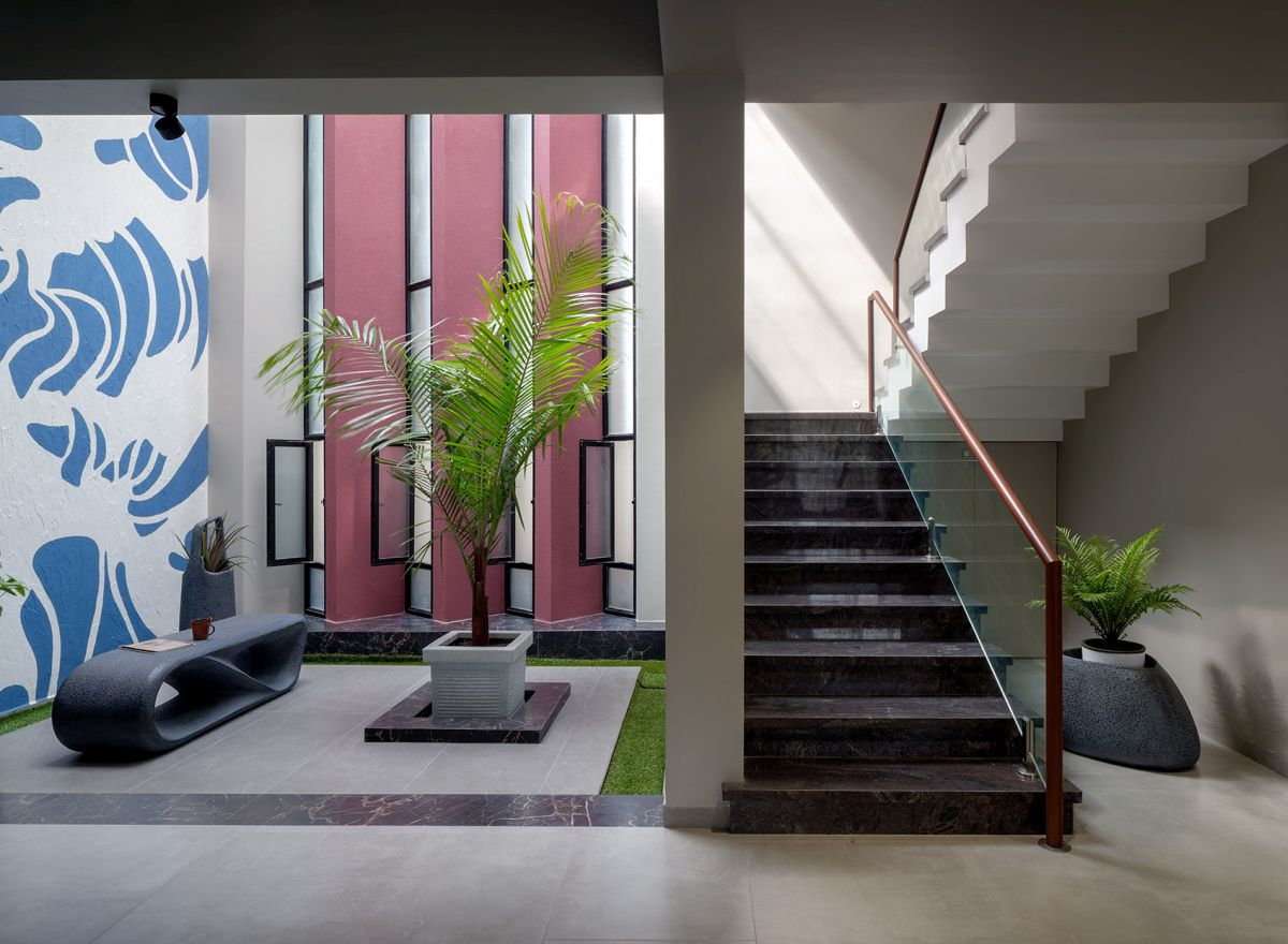 GHEI RESIDENCE at NANDED, MAHARASHTRA, by 4TH AXIS DESIGN STUDIO 4