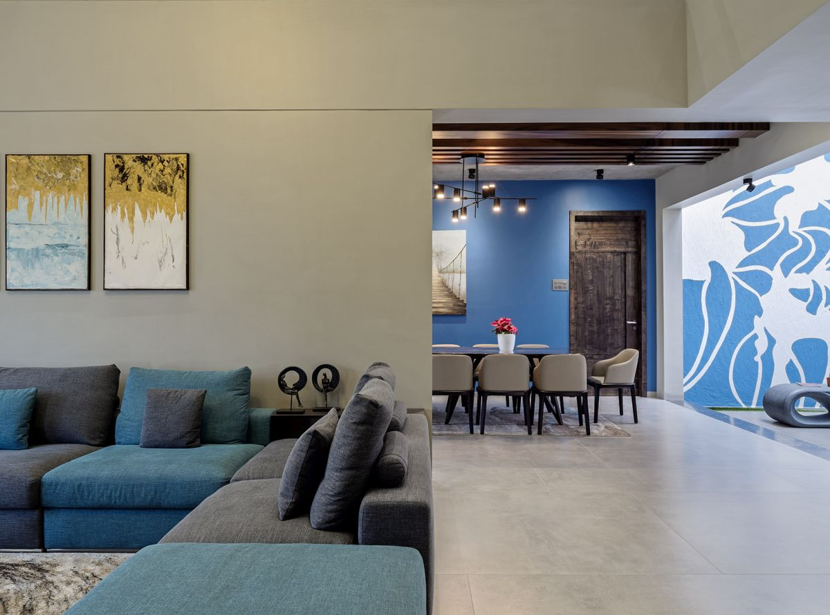 GHEI RESIDENCE at NANDED, MAHARASHTRA, by 4TH AXIS DESIGN STUDIO 8