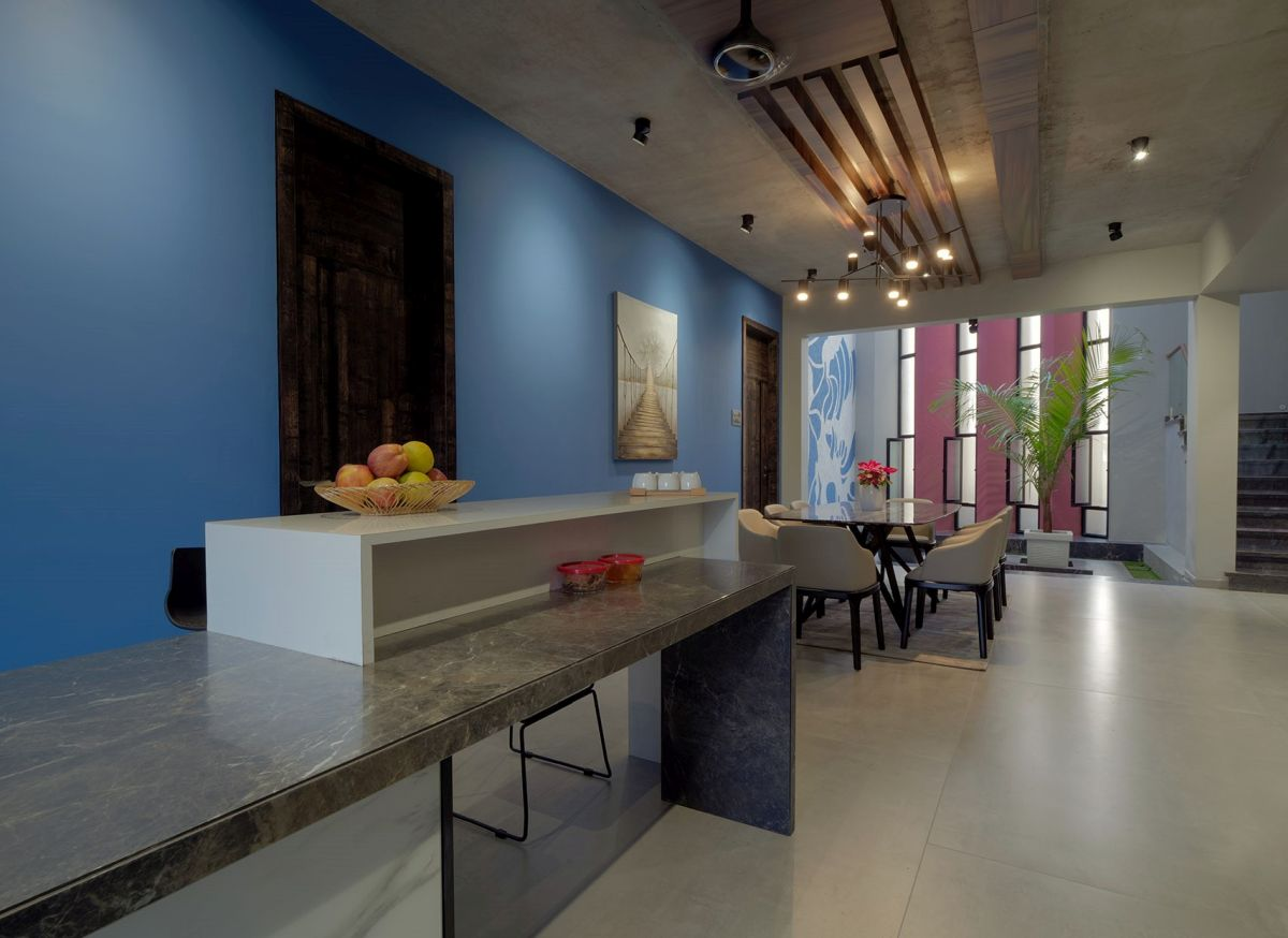 GHEI RESIDENCE at NANDED, MAHARASHTRA, by 4TH AXIS DESIGN STUDIO 38