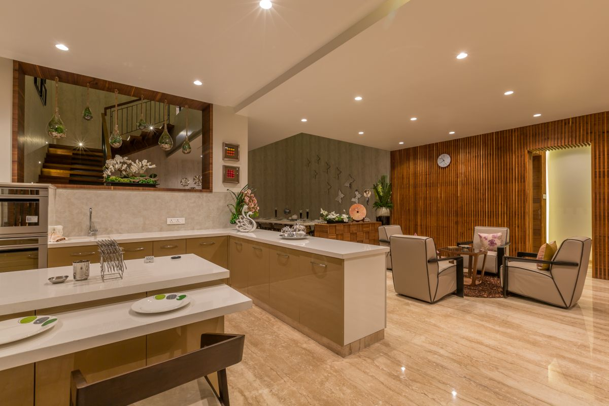 Jagtap Residence at Pune by Designers Group 13