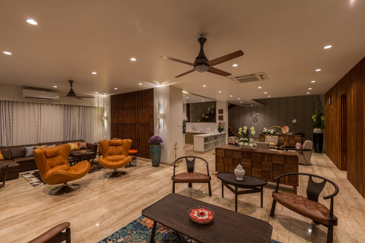 Jagtap Residence at Pune by Designers Group