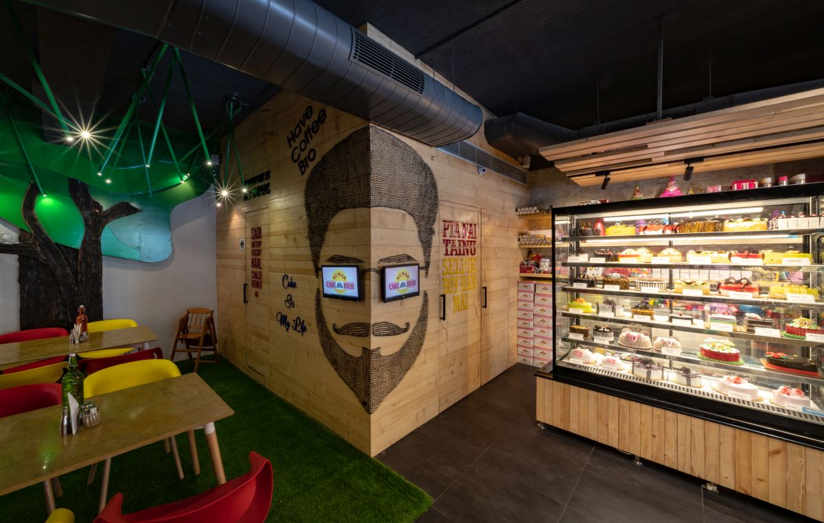 Café's-cum-restaurants, at Jalandhar, Punjab, by Space Race Architects 15