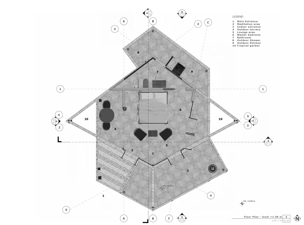 Unbuilt: KH retreat at Cambodia by Architectural Engineering Consultants 15