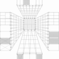 Unfolded Ceiling Plan