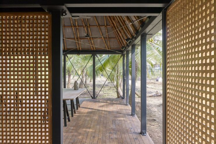 DAK – The Other Side Studio – an artist retreat in Mumbai, by Architecture Brio 14