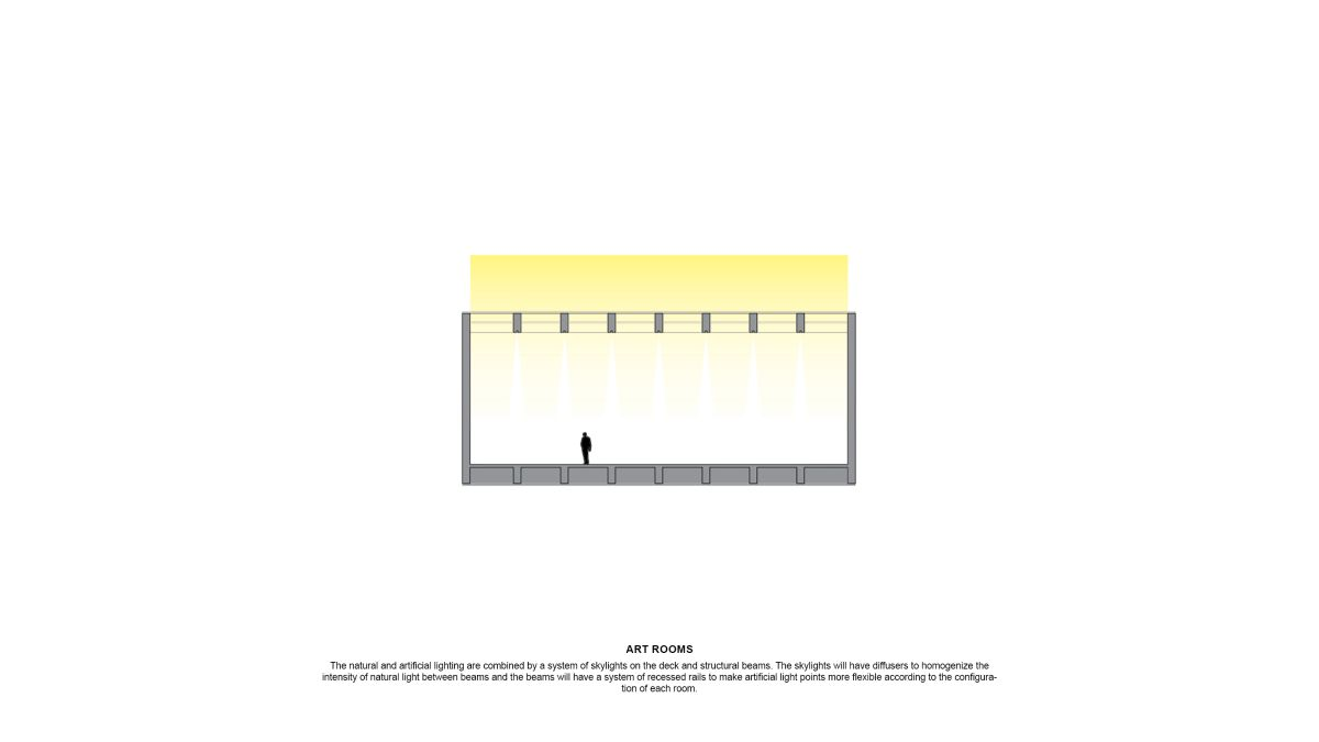 WINNING PROPOSAL FOR THE NEW SANTIAGO'S MUSEUM (NuMu), at Santiago, Chile, by Claudio C. Araya 30