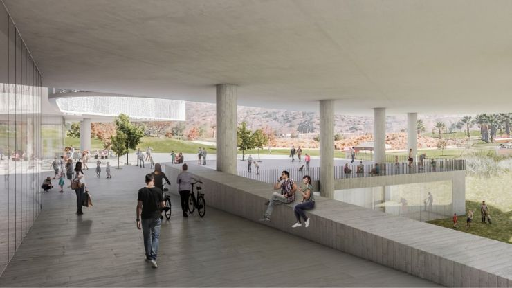 WINNING PROPOSAL FOR THE NEW SANTIAGO'S MUSEUM (NuMu), at Santiago, Chile, by Claudio C. Araya 20