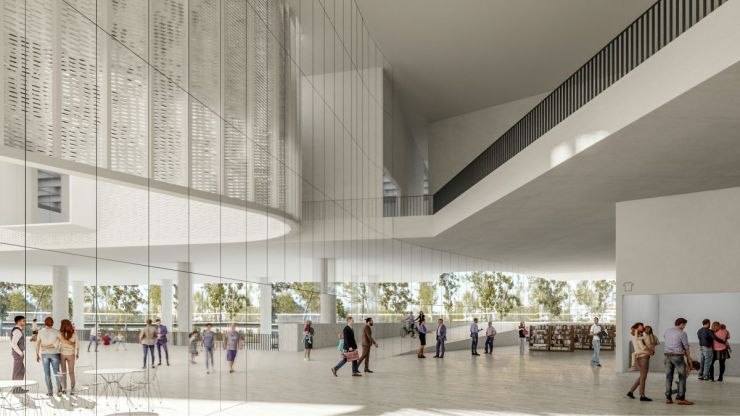 WINNING PROPOSAL FOR THE NEW SANTIAGO'S MUSEUM (NuMu), at Santiago, Chile, by Claudio C. Araya 12