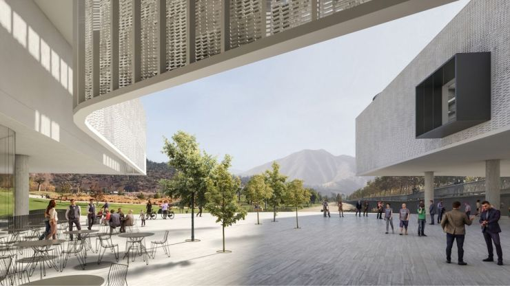 WINNING PROPOSAL FOR THE NEW SANTIAGO'S MUSEUM (NuMu), at Santiago, Chile, by Claudio C. Araya 4