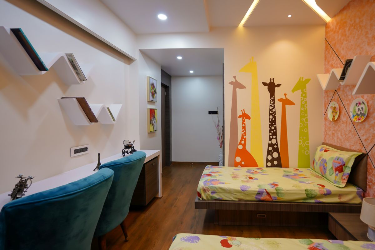 Amit Nagdive Residence at Capitol Heights, Nagpur by FANP Design Studio 15