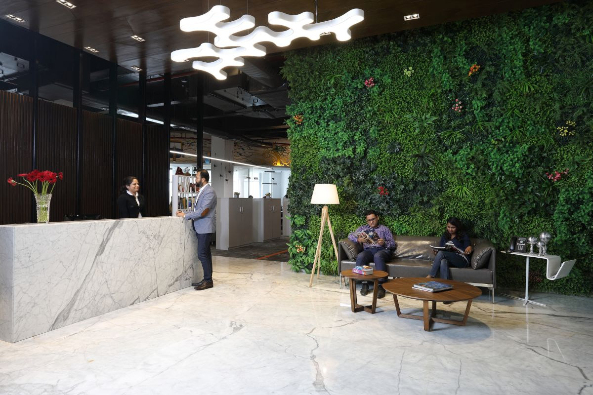 Contemporary Corporate Office, at Gurugram, Haryana, by Parag Singal Architects 2