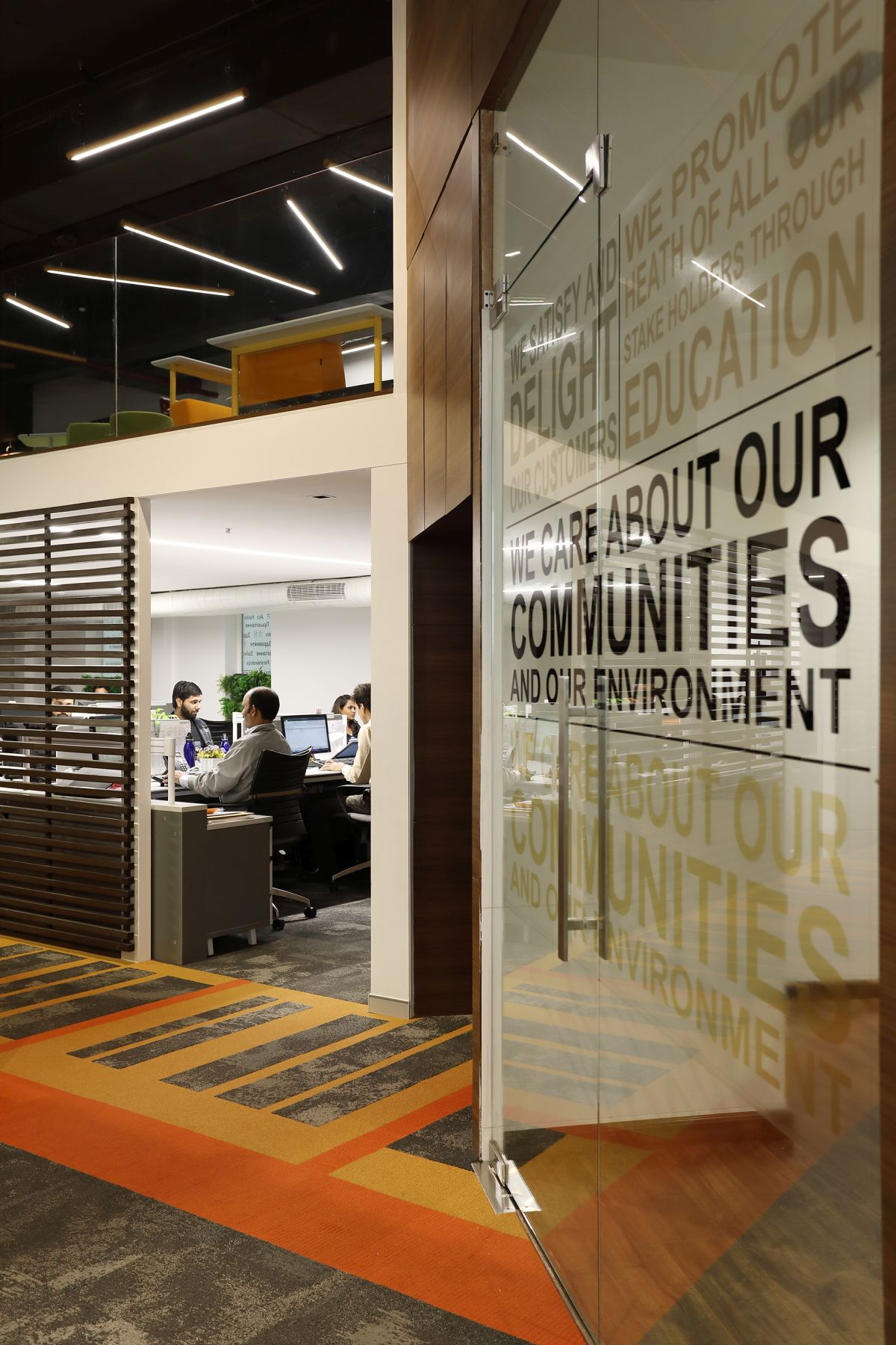 Contemporary Corporate Office, at Gurugram, Haryana, by Parag Singal Architects 8